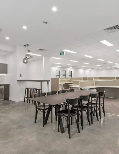 Burnished Polished concrete installed in Perth WA.