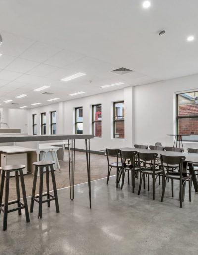 Full exposure Polished concrete installed in Perth WA.
