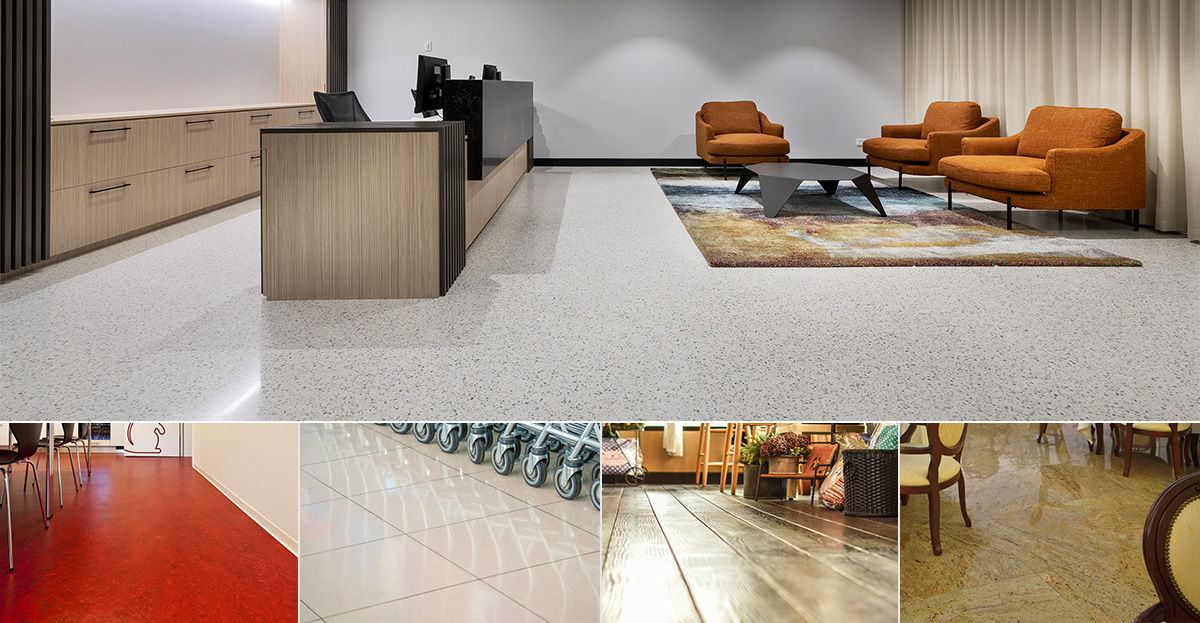 Polished Concrete vs Other Flooring Materials