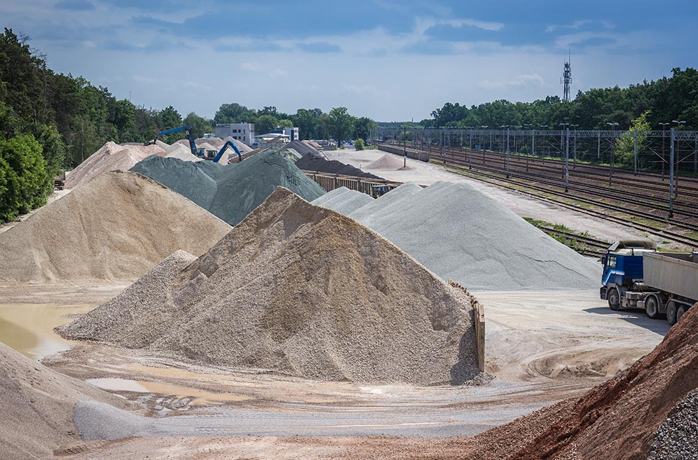 Concrete is considered an environmentally friendly construction material