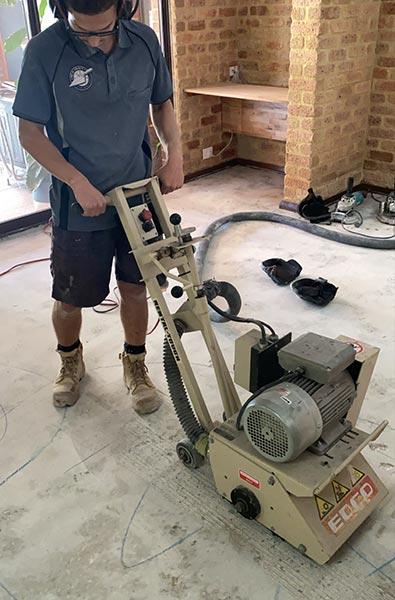 concrete surface grinding